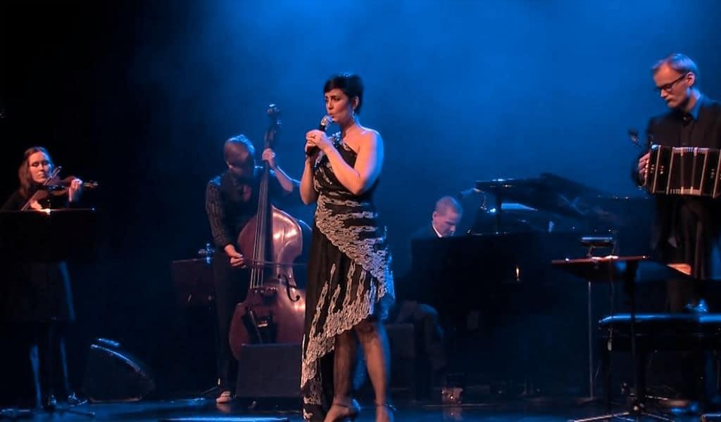 Angelika Klas & Tanguedia Quintet konserttikokonaisuuksia