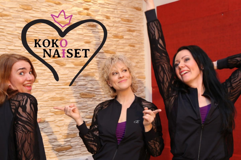 Laura Voutilaisen seurassa Maija Kiljunen ja Merja Kyhyräinen